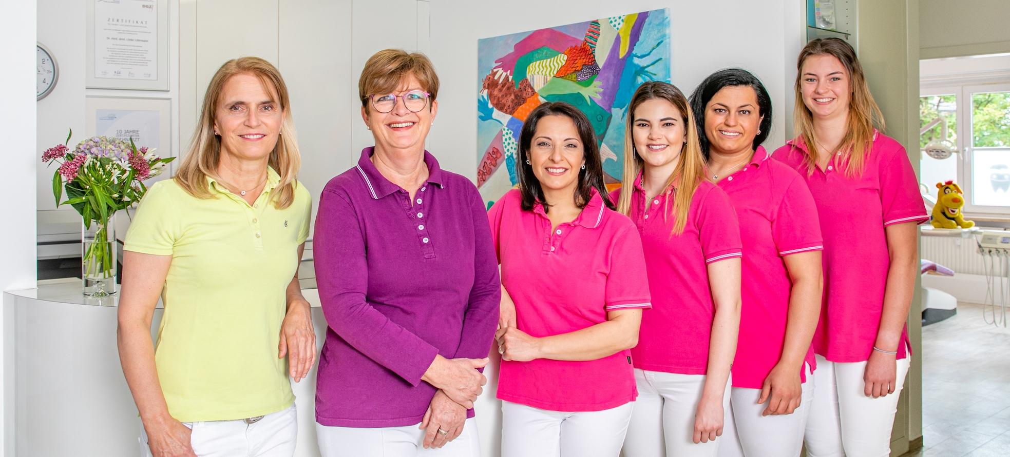 Teamfoto Praxis Dr. Uhlemann
