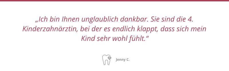 Patientenstimme Jenny C.